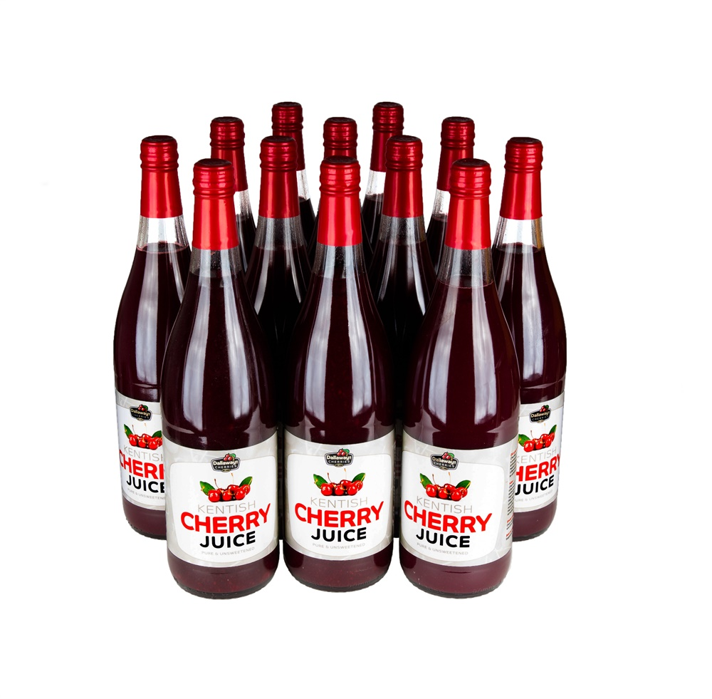 12 x 1 Litre Bottles of Cherry Juice