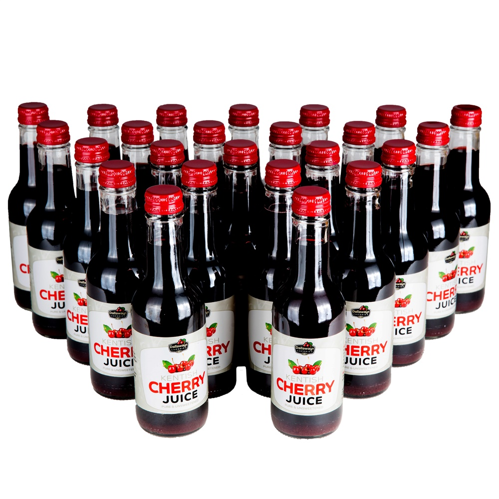 24 x 250ml Bottles of Cherry Juice